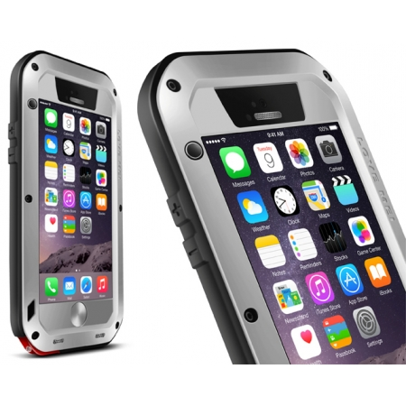 Aluminum Gorilla Glass Metal Waterproof Shockproof Cover Case for iPhone 6 Plus / 7 / 8 / XS Max / XR