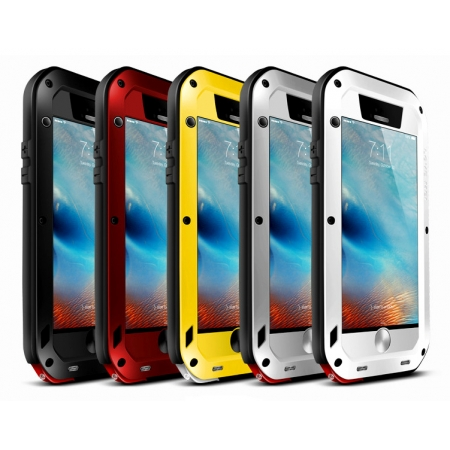 Aluminum Powerful Shockproof Gorilla Glass Metal Case Cover For iPhone 6S 4.7 Inch