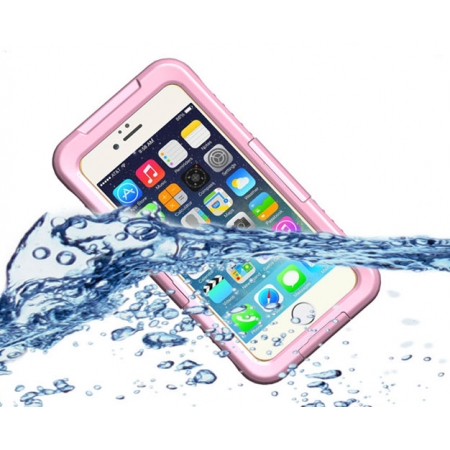 New Waterproof Shockproof Dirt Snow Proof Durable Case Cover for iPhone 6S Plus - Pink