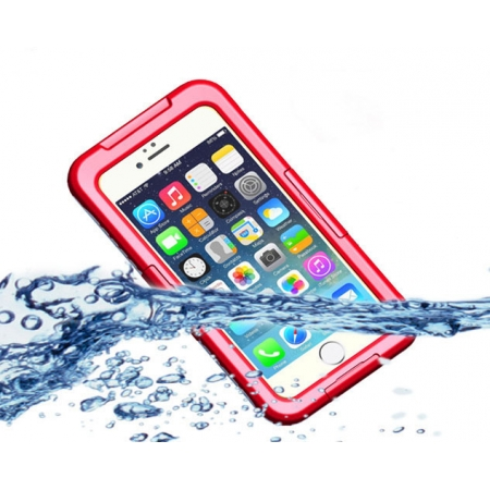 New Waterproof Shockproof Dirt Snow Proof Durable Case Cover for iPhone 6S Plus - Red