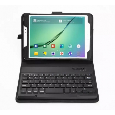 Removeable Bluetooth Keyboard Leather Case for Samsung Galaxy Tab S2 8.0 T710 T715