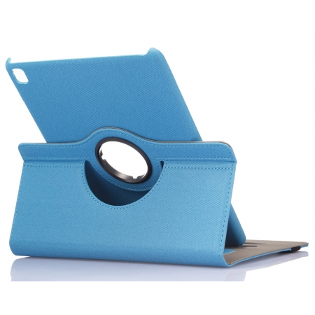 360 Rotating Mutil-angle Stand Leather Case For iPad Pro 9.7 Inch - Light Blue