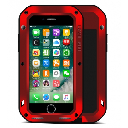 Metal Shockproof Waterproof Gorilla Glass Cover Case For iPhone SE 4.7 2020 6 7 8 Plus X XS XR 11 Pro Max