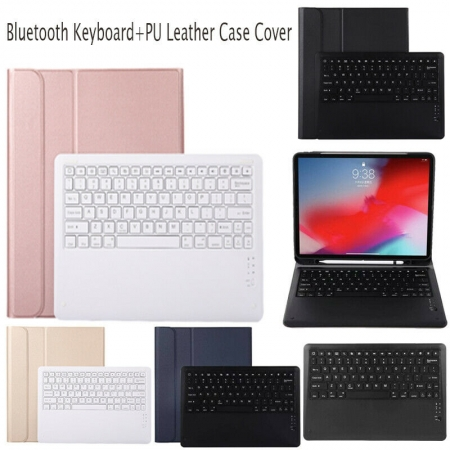 For iPad Pro 12.9'' 2018 Case Cover Stand with Bluetooth keyboard