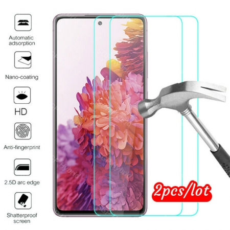 2PCS 9H Clear Tempered Glass Film Screen Protector