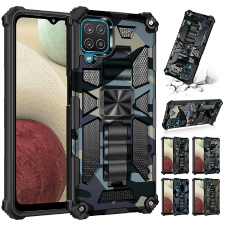 For Samsung Galaxy A21 A11 Case Rugged Shockproof Magnet Hybrid Cover
