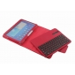 tab 10.1 case,Removable Bluetooth Keyboard Leather Case For Samsung Galaxy Tab 3 10.1 P5200 P5210 - Red