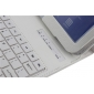 samsung cover for galaxy tab 10.1,Removable Bluetooth Keyboard Leather Case For Samsung Galaxy Tab 3 10.1 P5200 P5210 - White