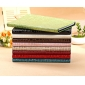 leather ipad air case bag,New Arrival Crocodile PU Leather Flip Folio Smart Cover Stand Case for iPad Air - Blue