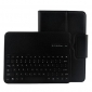 Removable Wireless Bluetooth Keyboard Leather Case Stand Cover For Samsung Galaxy Tab Pro 10.1 T520 - Black
