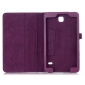Lychee Leather Pouch Case With Stand for Samsung Galaxy Tab 4 8.0 T330 - Red