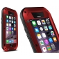For iPhone 12 11 Pro Max Case Gorilla Glass Metal Waterproof Shockproof Cover
