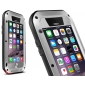 Aluminum Gorilla Glass Metal Waterproof Shockproof Cover Case for iPhone 6/6S 4.7 inch - Silver