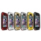 Aluminum Gorilla Glass Metal Waterproof Shockproof Cover Case for iPhone 6/6S 4.7 inch - Yellow