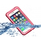 Shockproof Waterproof Dirt Snow Proof Case Cover for iPhone 6/6S 4.7 Inch - Red