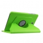 360 Degree Rotating Stand Litchi Leather Cover Case for Samsung Galaxy Tab S2 9.7 T815 - Green