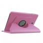 360 Degree Rotating Stand Litchi Leather Cover Case for Samsung Galaxy Tab S2 9.7 T815 - Pink