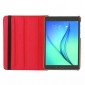 360 Degree Rotating Stand Litchi Leather Cover Case for Samsung Galaxy Tab S2 9.7 T815 - Red