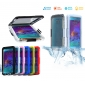 Heavy Duty Waterproof Shockproof Protective Cover Case For Samsung Galaxy Note 5 - Blue