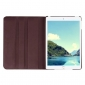 360 degree Rotating Tablet Cover Flip Leather Case for iPad Mini 4 - Brown