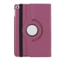 360 degree Rotating Tablet Cover Flip Leather Case for iPad Mini 4 - Purple