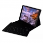 Removable Bluetooth Keyboard PU Leather Case for iPad Pro 12.9 inch 2018 - Black
