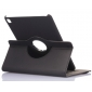 360 Rotating Mutil-angle Stand Leather Case For iPad Pro 9.7 Inch - Black