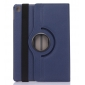 360 Rotating Mutil-angle Stand Leather Case For iPad Pro 9.7 Inch - Dark Blue