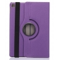360 Rotating Mutil-angle Stand Leather Case For iPad Pro 9.7 Inch - Purple