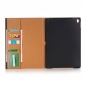 Crocodile High Quality Card Leather Case Stand Cover for Apple iPad Pro 9.7 Inch - Brown