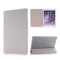 Ultra Slim Transparent Magnetic Leather Smart Cover Case For iPad Pro 9.7 inch - Grey