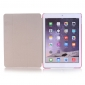 Ultra Slim Transparent Magnetic Leather Smart Cover Case For iPad Pro 9.7 inch - Pink