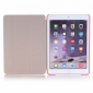 Ultra Slim Transparent Magnetic Leather Smart Cover Case For iPad Pro 9.7 inch - Red