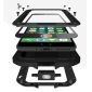 Aluminum Metal Shockproof Waterproof Gorilla Glass Cover Case For iPhone 7 / 8 / XS Max / XS