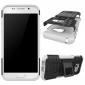 Shockproof Heavy Duty Combo Hybrid Rugged Dual Layer Grip Cover with Kickstand For Samsung Galaxy A5 2017 - White