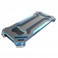 R-JUST Metal Aluminum Frame Case Cover for Samsung Galaxy S8 Plus - Blue