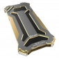 R-JUST Metal Aluminum Frame Case Cover for Samsung Galaxy S8 Plus - Gold