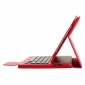 Detachable Wireless Bluetooth Keyboard Leather Stand Case For iPad Pro 10.5 inch - Red