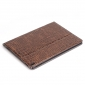 Luxury Crocodile Leather Smart Case Magnetic Cover For iPad Pro 10.5inch - Brown