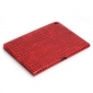 Luxury Crocodile Leather Smart Case Magnetic Cover For iPad Pro 10.5inch - Red