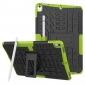 Shockproof Hybrid TPU+PC Dual Layer Protective Case Cover for 10.5-inch iPad Pro - Green