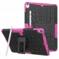 Shockproof Hybrid TPU+PC Dual Layer Protective Case Cover for 10.5-inch iPad Pro - Hot pink