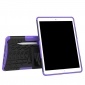 Shockproof Hybrid TPU+PC Dual Layer Protective Case Cover for 10.5-inch iPad Pro - Purple