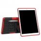 Shockproof Hybrid TPU+PC Dual Layer Protective Case Cover for 10.5-inch iPad Pro - Red