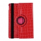 Rotating Crocodile PU Leather Case with Stand for iPad Pro 10.5 inch  - Rose