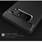 Carbon Fiber TPU Case For Samsung Galaxy Note 8 Silicone Phone Shockproof Armor Cover - Grey
