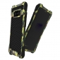 R-Just Aluminum Metal Carbon Fiber Shockproof Case for Samsung Galaxy Note 8 - Camouflage