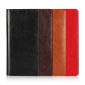 For Samsung Galaxy Note 8 Genuine Leather Flip Wallet Phone Case Cover - Red
