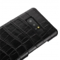 Luxury Crocodile Real Cow Genuine Leather Case Cover For Samsung Galaxy Note 8 - Black