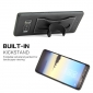 Shockproof Protective Cover Case with Kickstand Card Slot for Samsung Galaxy Note 8 - Black